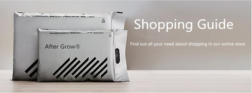 after grow shopping guide
