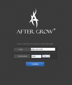 aftergrow checking