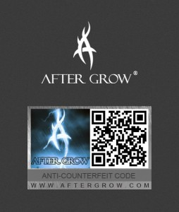 anti-counterfeiting of AFTER GROW
